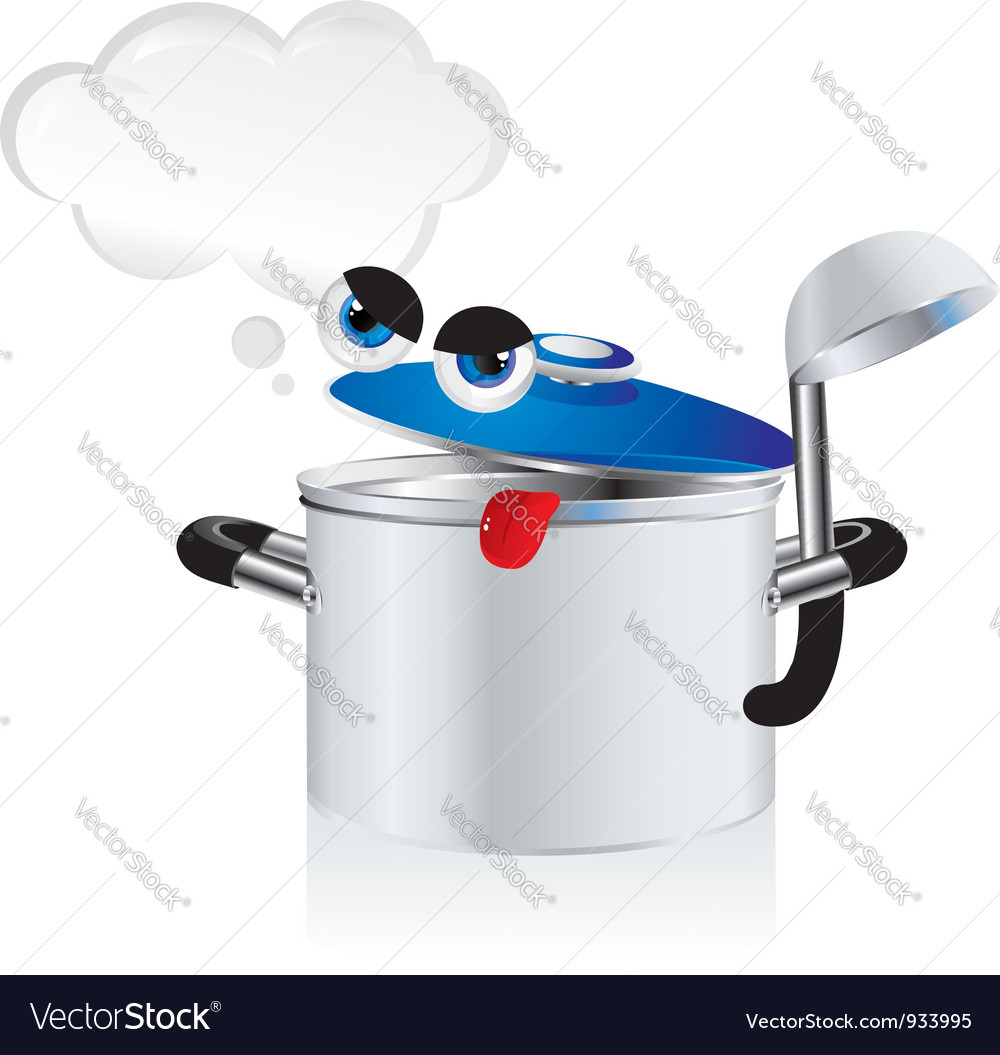 Grouchy pan vector | Price: 1 Credit (USD $1)