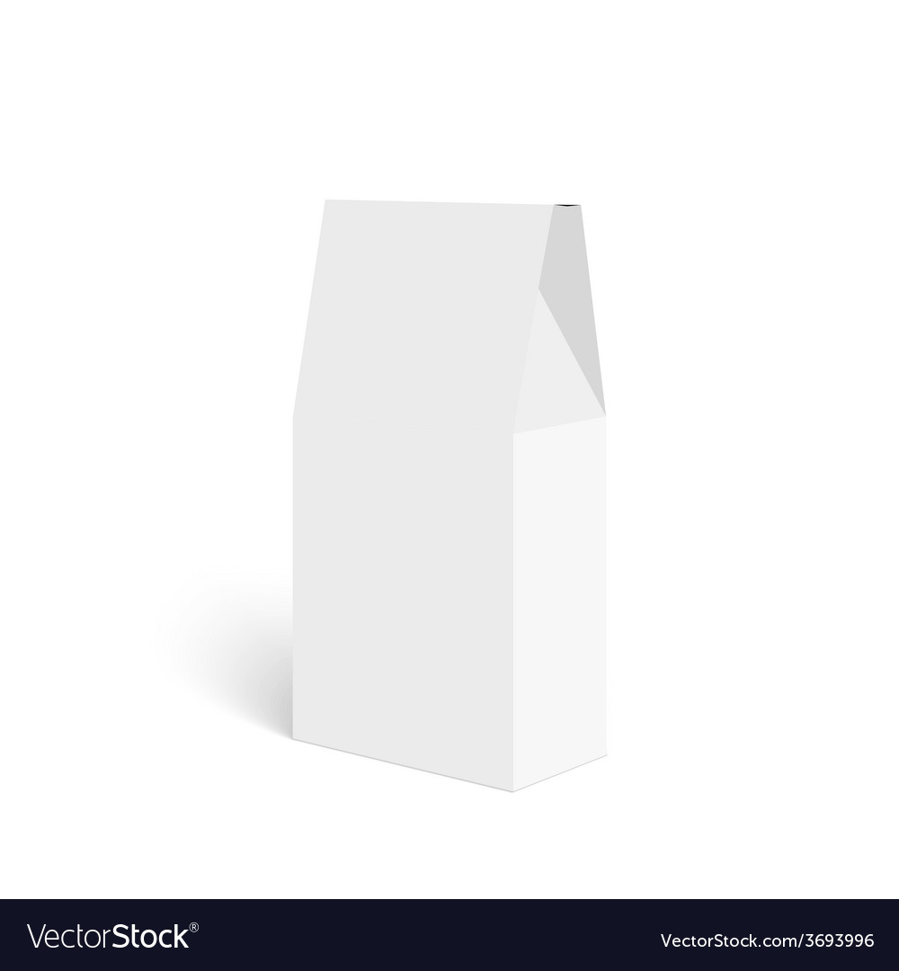 Package white box vector | Price: 1 Credit (USD $1)
