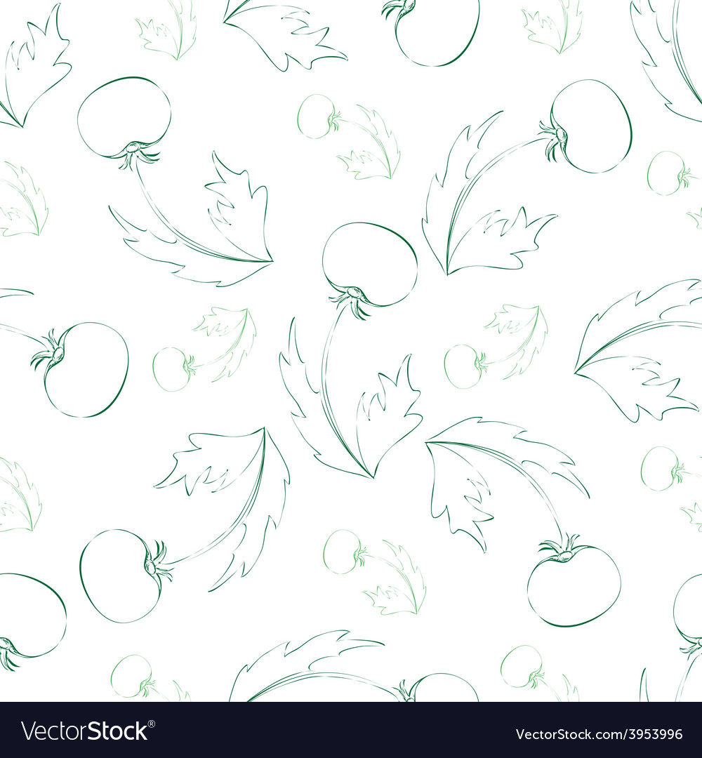 Seamless pattern of sketch dandelion vector | Price: 1 Credit (USD $1)