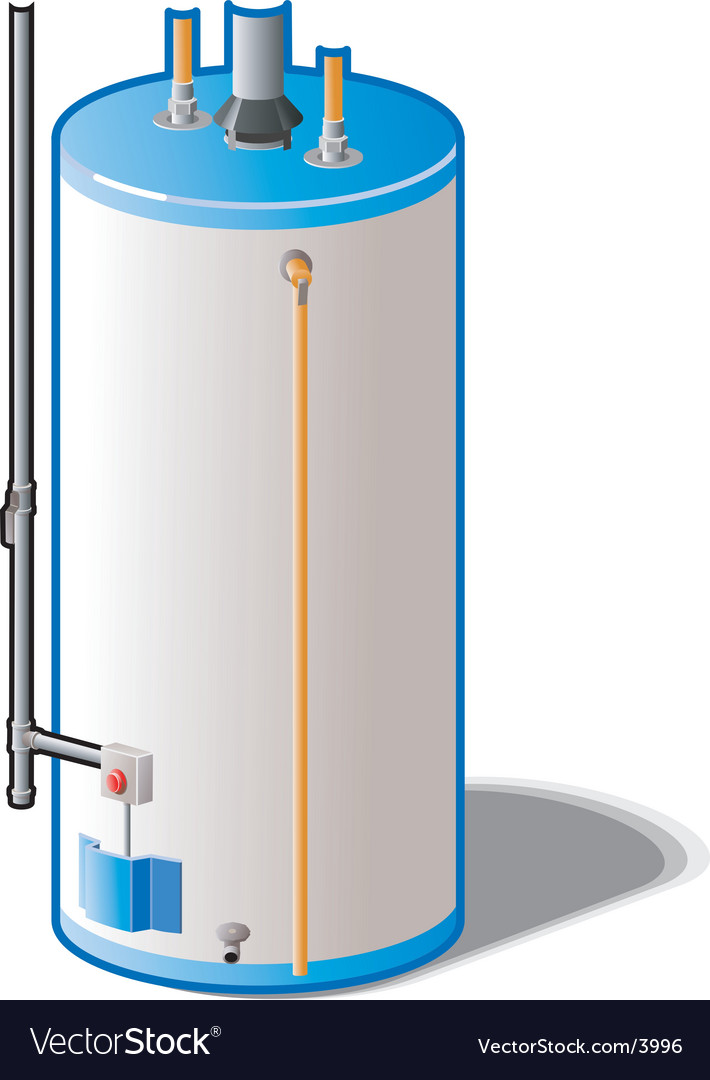 Water heater vector | Price: 1 Credit (USD $1)