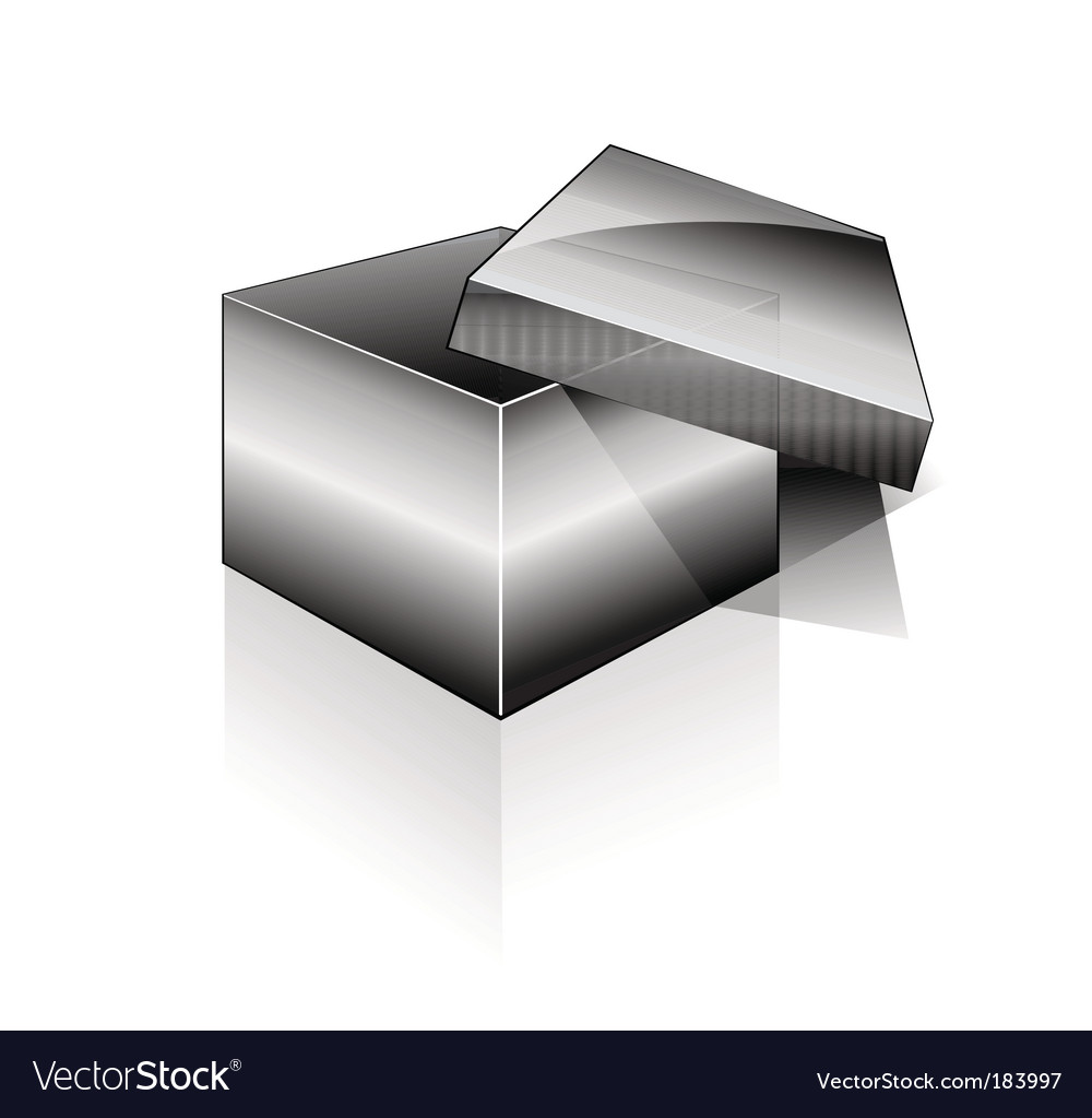 3d open box vector | Price: 3 Credit (USD $3)