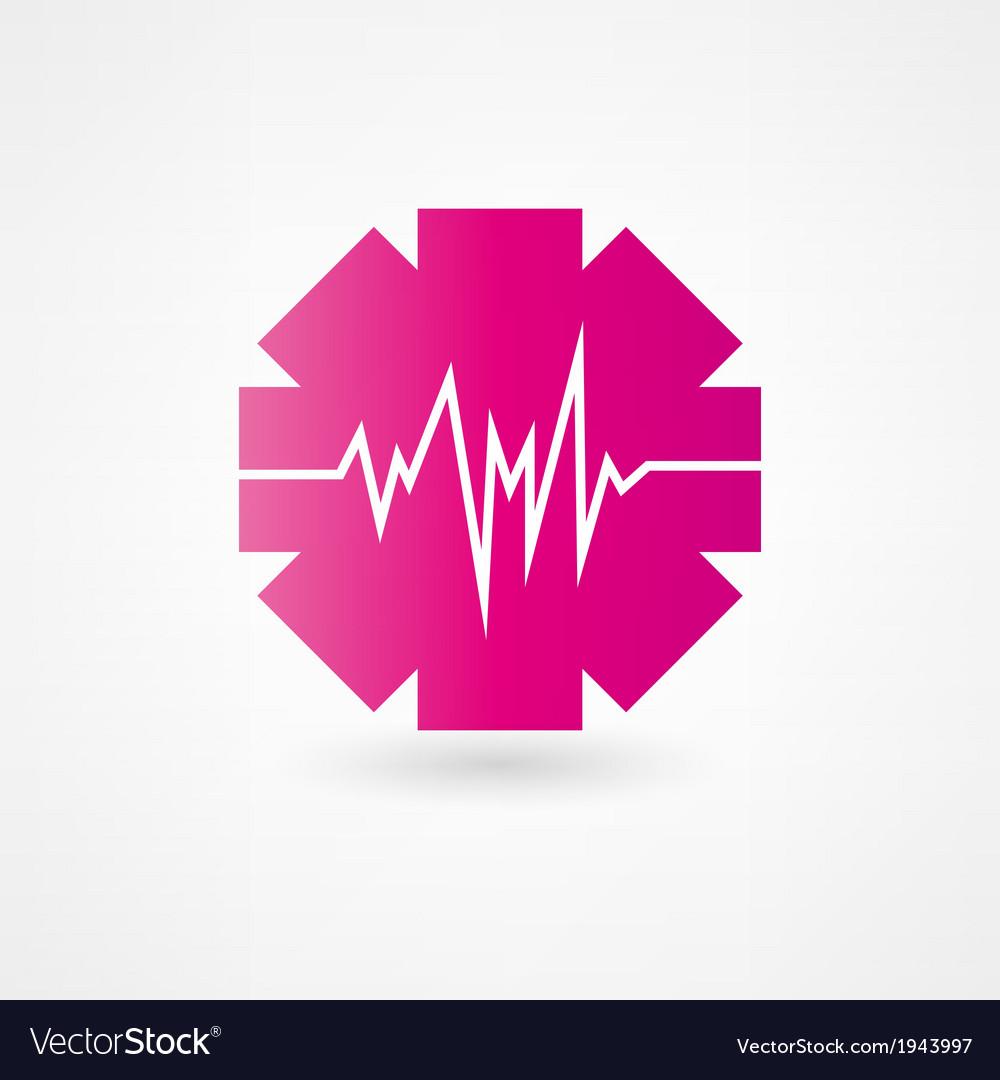 Cardiogram icon vector   Price: 1 Credit (USD $1)