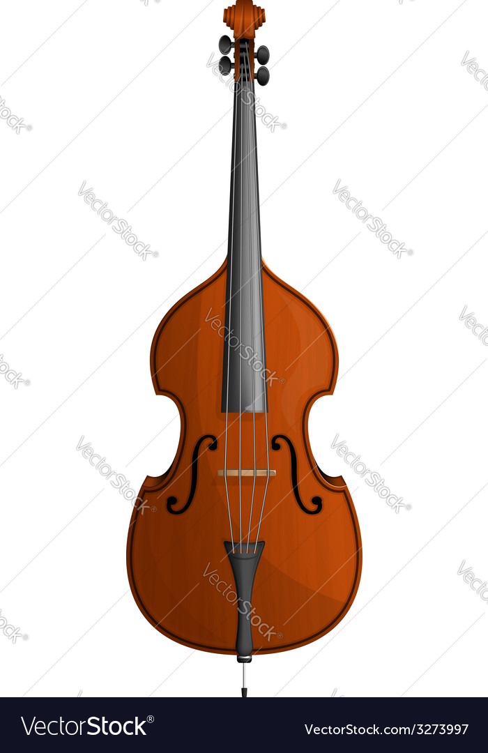 Contrabass vector | Price: 1 Credit (USD $1)