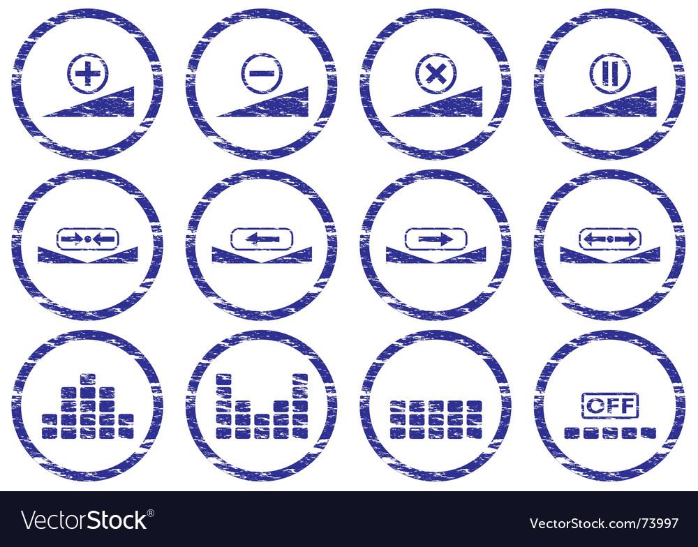 Gadget icon set vector | Price: 1 Credit (USD $1)