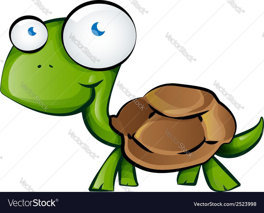 Tortoise cartoon vector | Price: 1 Credit (USD $1)