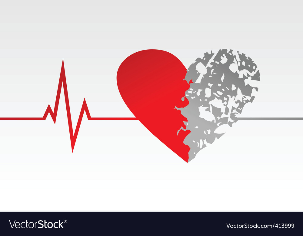 Heart life vector | Price: 1 Credit (USD $1)