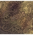 Doodles musical background vector