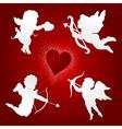 Angel of love vector