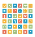 Set of icons web design elements vector