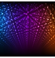 Abstract background matrix of glowing vector