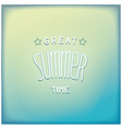 Summer airy lettering design vector