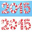 2015 figures winter card vector