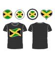 Jamaican t-shirt vector