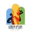 Wine logo design template sommelier or vector