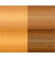 Wood textures set vector