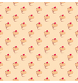Seamless pattern texture or background with cakes vector