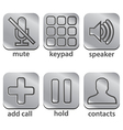 Icon telephone vector