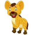 Cute hyena cartoon vector