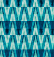 Retro crystal triangle seamless pattern vector