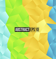 Colour retro pattern of geometric shapes vector