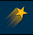 Abstract star sign branding corporate vector
