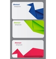 Business card template abstract bsckground vector