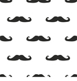 Seamless mustache pattern texture or background vector
