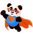 Super panda vector
