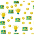 Money seamless background vector