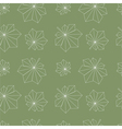 Chestnut leaves pattern vector
