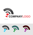 Modern logo and icon set vector