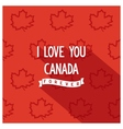 Canadian quote poster design vector