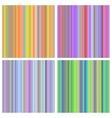 Set of seamless rainbow patterns vector