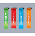 Free bookmarks vector