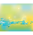 Clip art abstract background with squares vector