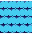 Shark pattern vector