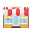 Shop icon made in flat design vector
