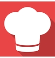 Chef cap icon cooking hat vector