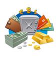 Money and wealth vector