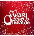 Merry christmas congratulation card vector