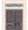 Antique doors vector