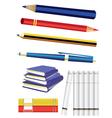 Study pens vector