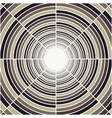 Abstract deep tube light at end of tunnel vector