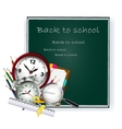 Modern back to school background for you design vector