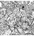 Abstract art drawing vector