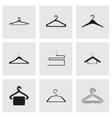 Hanger icons set vector