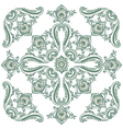 Pattern green vector