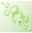 Paper circles vector