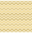 Retro gold zigzag chevron pattern vector