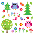 Birdstress and owls vector